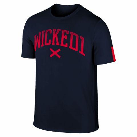 T-shirt Wicked One Cross - Marine