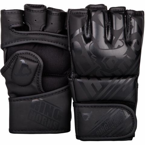 Gants de MMA Ringhorns Nitro - Noir/Noir