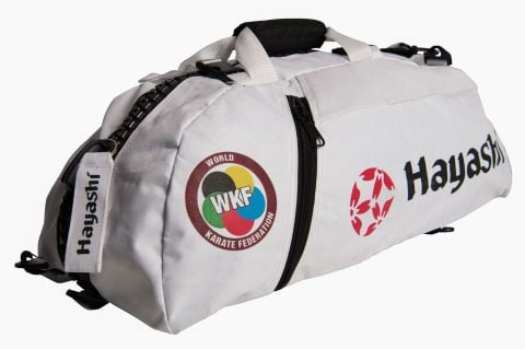 Sac de sport Hayashi Karaté - Blanc - Approuvé WKF
