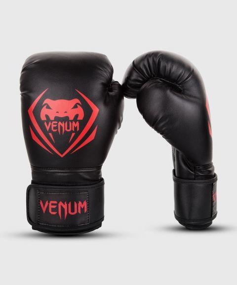 Gants de boxe Venum Contender - Noir/Rouge - Exclusivité
