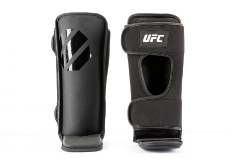 Protège-tibias de Grappling UFC - Noir
