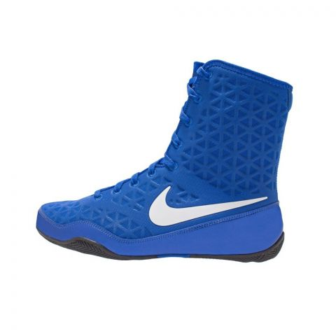 Chaussures de boxe Nike KO - Bleu/Blanc