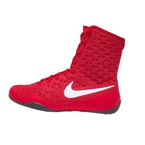 Chaussures de boxe Nike KO - Rouge/Blanc