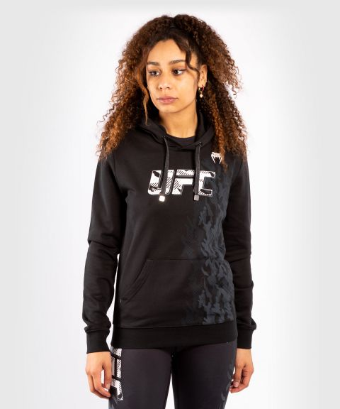 Sweatshirt à Capuche Femme UFC Venum Authentic Fight Week - Noir