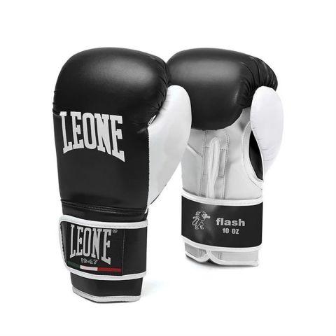 Gants de boxe Leone Flash - Noir - pour enfants