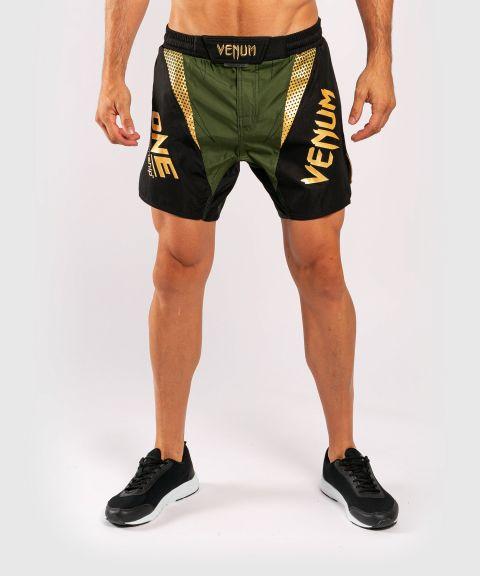 Fightshorts Venum x ONE FC - Kaki/Doré