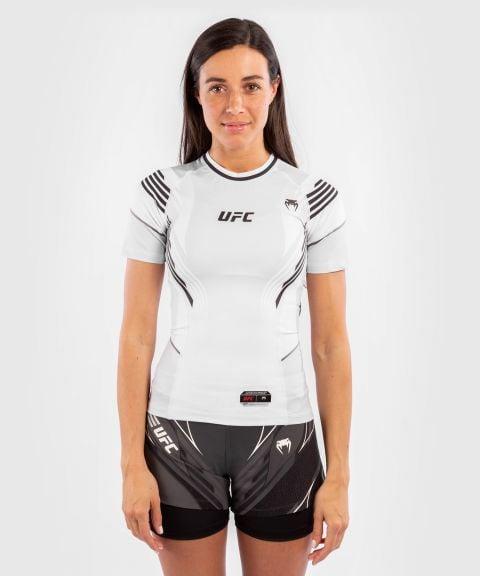 T-shirt de compression Femme UFC Venum Authentic Fight Night - Blanc