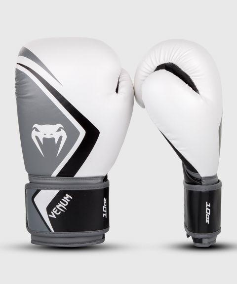 Gants de boxe Venum Contender 2.0 - Blanc/Gris-Noir