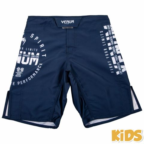 Fightshort Enfant Venum Signature Kids - Bleu Marine