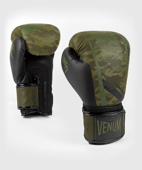 Gants de boxe Venum Trooper - Forest Camo/Noir