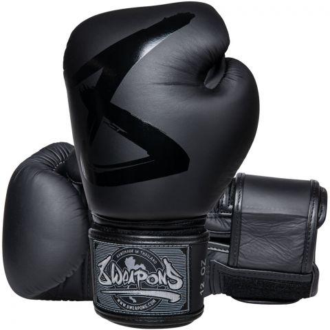 Gants de boxe 8 Weapons Big 8 Premium - Noir