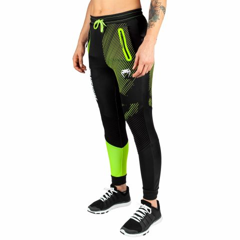 Jogging Femme Venum Training Camp 2.0 - Noir/Jaune Fluo - Exclusivité