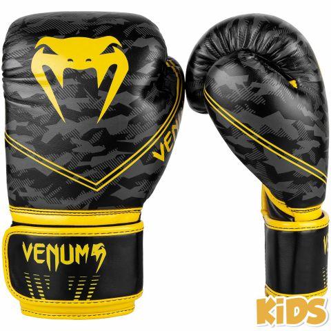 Gants de boxe Enfant Venum Okinawa 2.0 Kids - Noir/Jaune