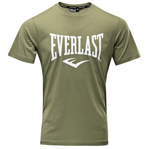 T-shirt Everlast Basic Tee-Russel - Kaki