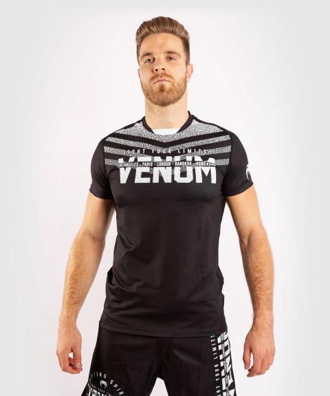 T-shirt Dry Tech Venum Signature - Noir/Blanc