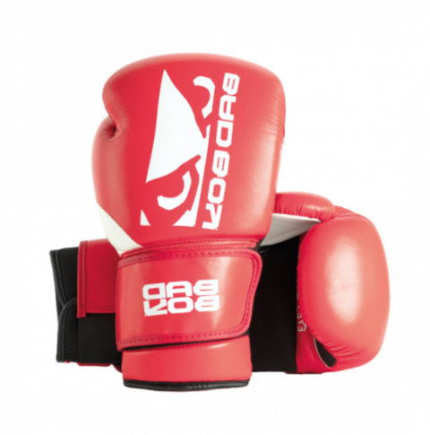 Gants de Boxe Zeus Bad Boy - Rouge/Blanc