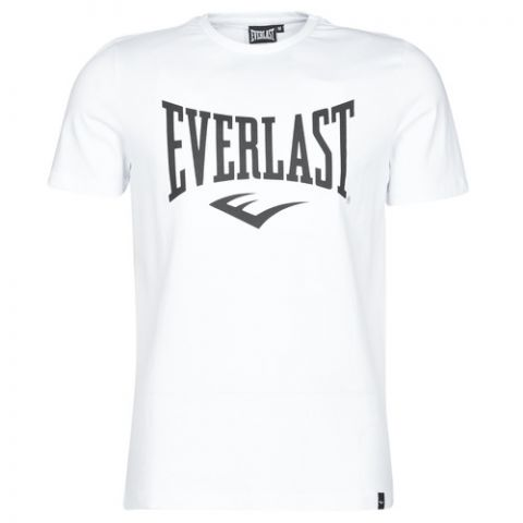 T-shirt Everlast Basic Tee-Russel - Blanc