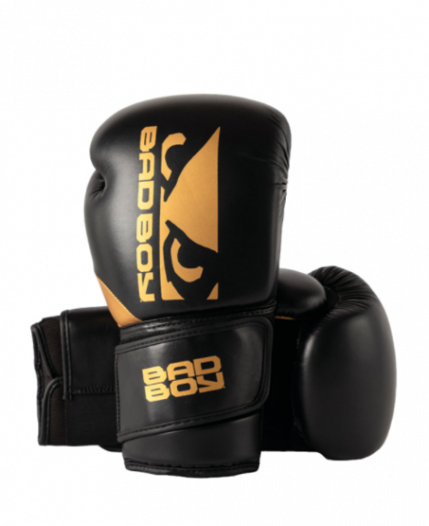 Gants de Boxe Zeus Bad Boy - Noir/Or