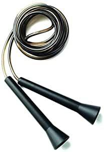 Corde à Sauter de Vitesse Everlast Alu - Noir