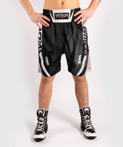 Short de boxe Venum Arrow - Noir/Blanc