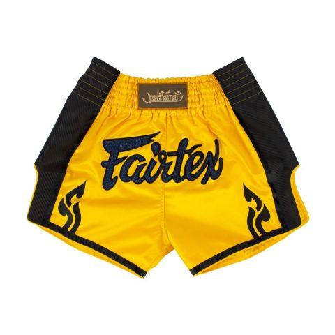 Short de boxe thaï Fairtex - Jaune