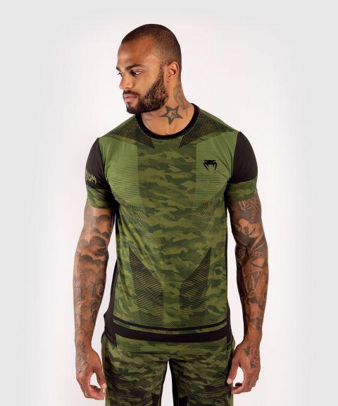 T-shirt en coton Venum Trooper - Forest Camo/Noir