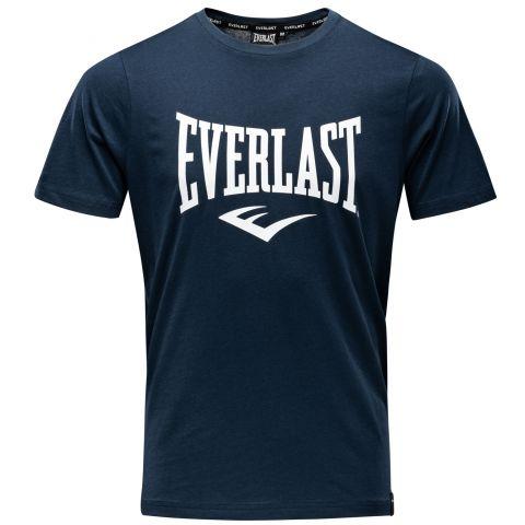 T-shirt Everlast Basic Tee-Russel - Bleu Marine
