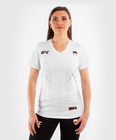 T-shirt Technique Femme UFC Venum Authentic Fight Night - Blanc