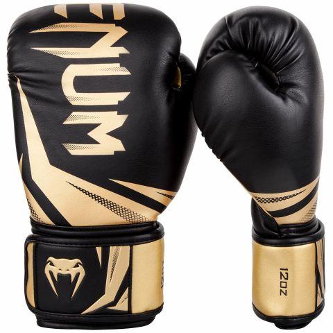 Gants de boxe Venum Challenger 3.0 - Noir/Or
