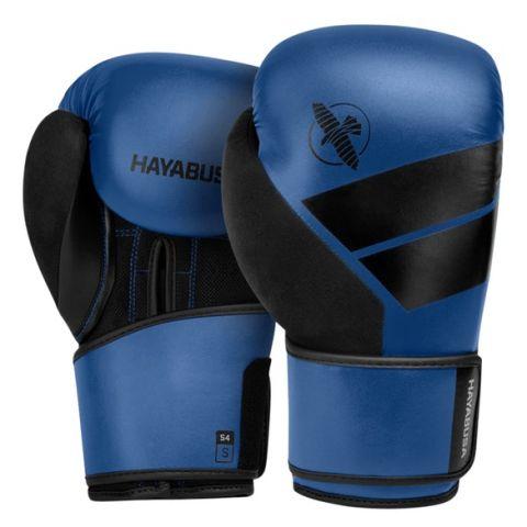 Gants de Boxe Hayabusa S4 - Noir/bleu
