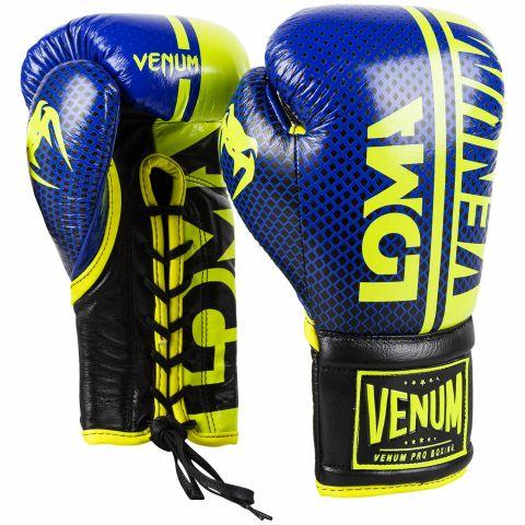 Gants de boxe Pro Venum Shield Edition Loma - Avec lacets
