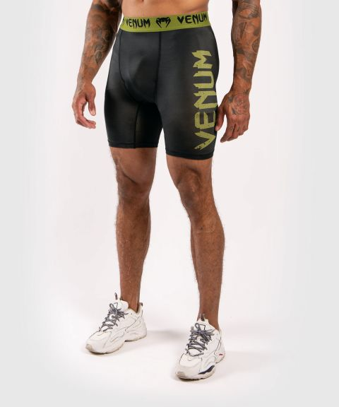 Short de compression Venum Boxing Lab - Noir/Vert