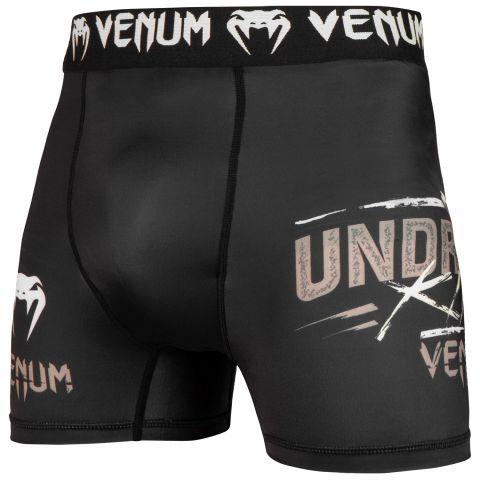 Short de compression court Venum Underground King - Noir/Sable
