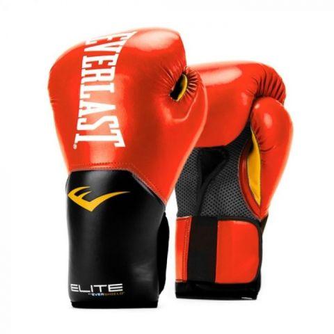 Gants de Boxe Everlast Pro Style Elite - Rouge