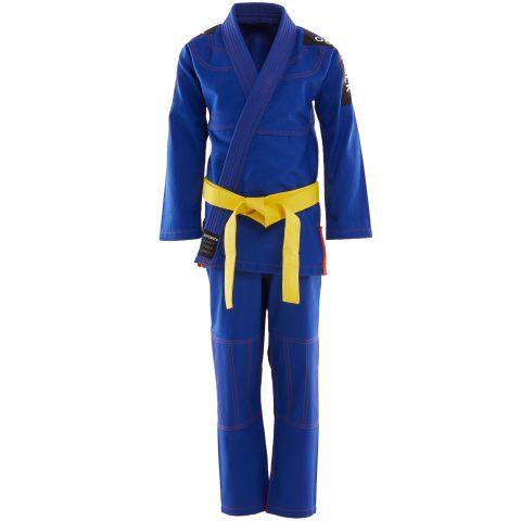Kimono de JJB Enfant OUTSHOCK - Bleu