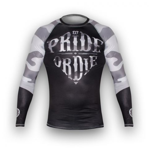 Rashguard Pride or Die Reckless - Manches Longues - Urban Camo
