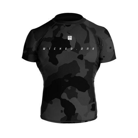 T-Shirt de compression Wicked One Cloze - Manches Courtes - Noir