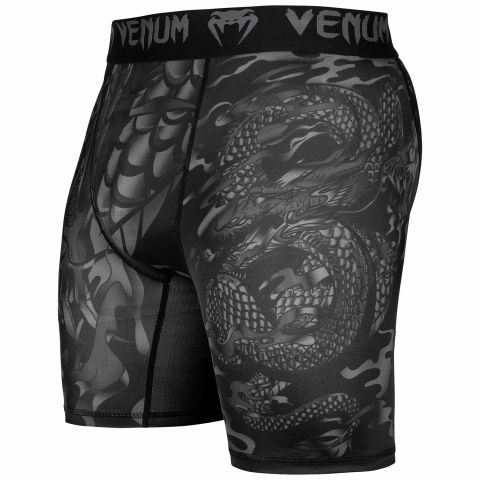 Short de compression Venum Dragon's Flight - Noir/Noir