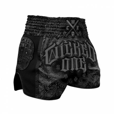 Short de Muay Thai Wicked One O.G - Noir