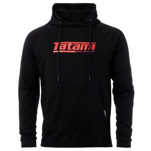 Sweatshirt à Capuche Tatami Fightwear Logo - Noir/Rouge