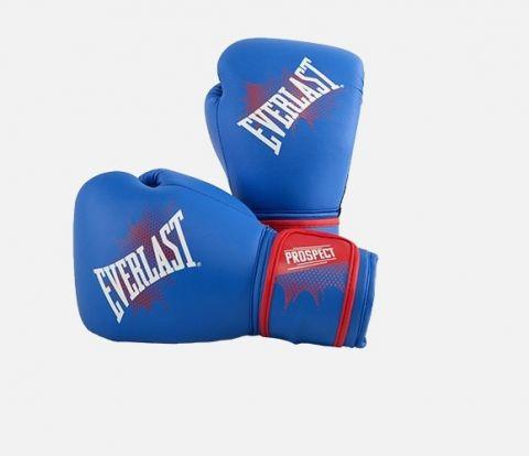 Gants de boxe enfant Everlast Prospect Training - Bleu/Rouge