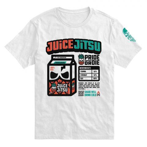 """T-Shirt Pride or Die """"JUICE JITSU"""" - Blanc"""