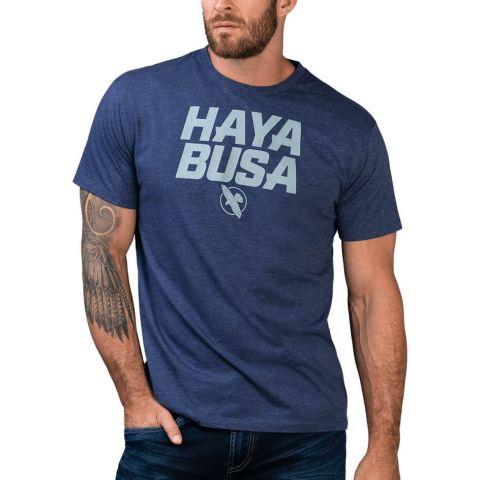 T-shirt Hayabusa Casual Logo  - Bleu