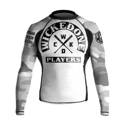 Rashguard Wicked One Rawdy - Blanc