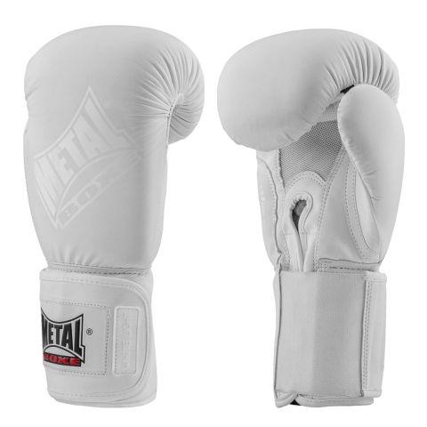 Gants Metal Boxe White Light - Blanc