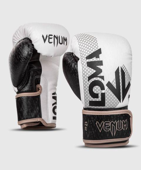 Gants de boxe Venum Arrow Edition Loma - Noir/Blanc
