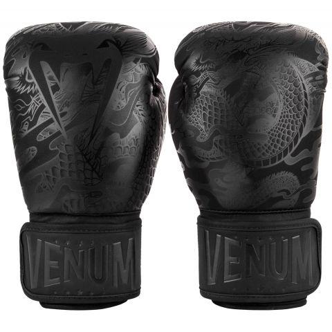 Gants de boxe Venum Dragon's Flight - Noir/Noir