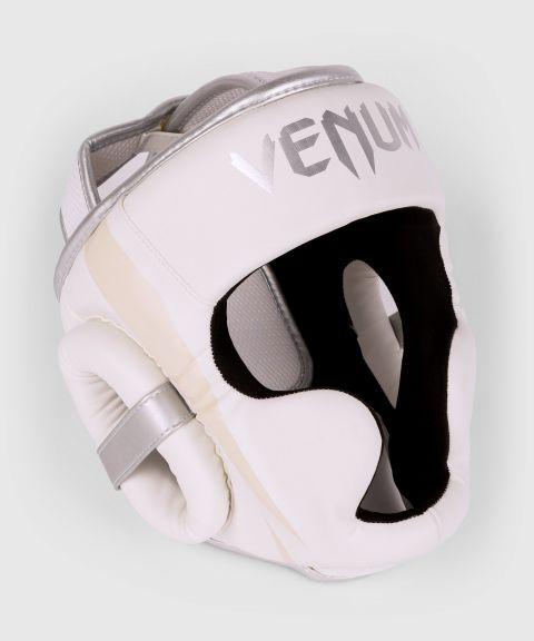 Casque Venum Elite - Blanc/Argent-Rose