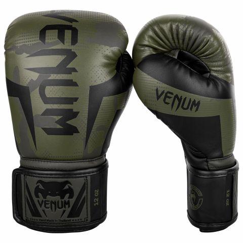Gants de boxe Venum Elite - Camouflage kaki