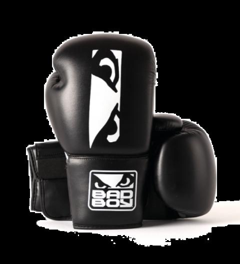 Gants de Boxe Titan Bad Boy - Noir/Blanc